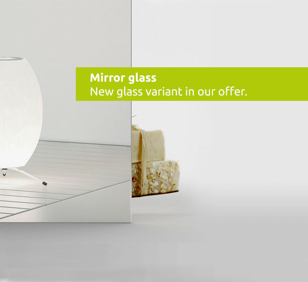 New glass variant- Mirror glass